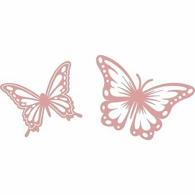 Intricut Butterfly Cutting Dies Cutters 2 Pieces Scrapbook Craft Cardmaking
