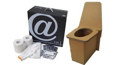 Toilet Emergency Disaster Outdoor Cardboard Box Simple Collapsible Japan