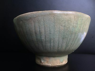 Antique GENUINE Chinese Song 宋朝 dynasty celadon bowl Ming yuan Han Tang archaic
