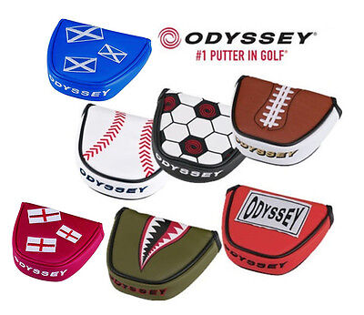 2017 Original Odyssey Funky Mallet Putter Cover Headcover Various Styles Colours