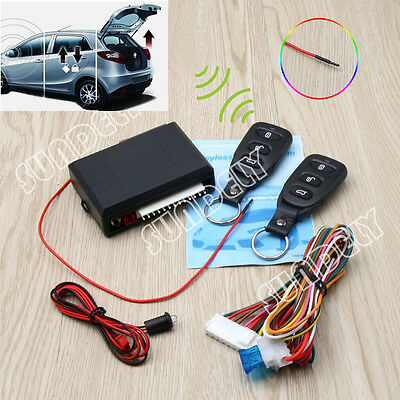 Car&2 Remote Universal Central Kit Door Locking Vehicle Keyless Entry System DT