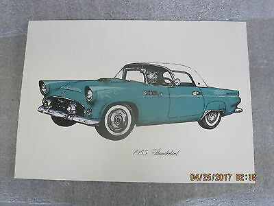 55 56 57 Ford Thunderbird prints