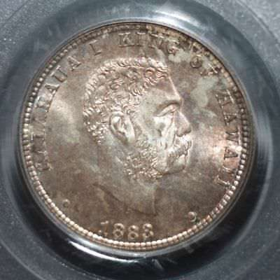 1883 Hawaii Quarter PCGS MS65  ***Rev. Tye's Stache*** #4031675