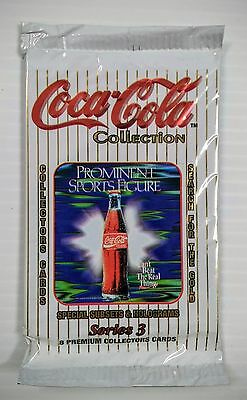 Coca-Cola Collector Cards Pack (Series 3) - FREE SHIPPING