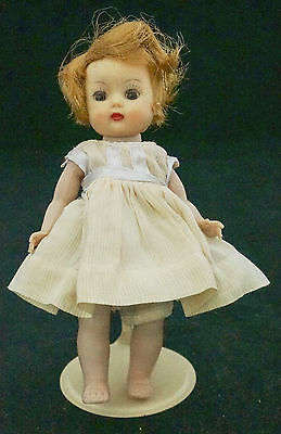 Lovely 1953-56 Signed Muffie Story Book Doll Vogue Ginny Tagged Clothing