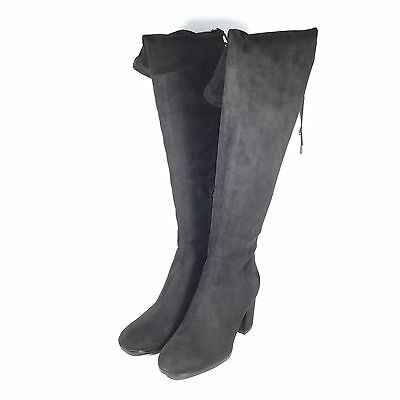 IVANKA TRUMP KELLYN Over The Knee Stiefel, schwarz, 8 ... US Display ... 8 269b38
