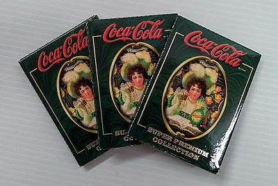 Coca-Cola Super Premium Collection Cards 3 Pack - FREE SHIPPING