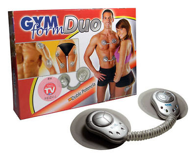 Electronic muscle toner fitness system body massage GYM form duo for foot neck
