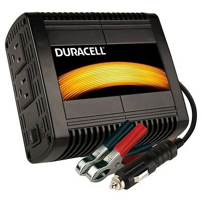 Duracell 300-Watt DC to AC Power Inverter - 813-0307 2 AC Outlet 12Vdc-120Vac