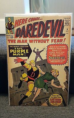 Daredevil 4 1st purple man Silver age