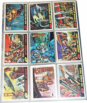 1994 Topps Mars Attacks Set 100 W/ 2 Frist Day Issues & Prototype Mns022