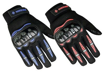 Men's Ladies Motorcycle Gloves Biker Rider Cycling Moto TouchScreen Hard Knuckle
