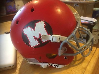 Glee Football Helmet Screen Worn Prop Wardrobe Glee
