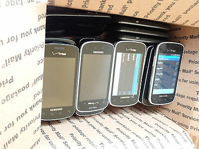 Lot of 25 Samsung Illusion SCH-i110 Verizon Smartphones Most Power On AS-IS