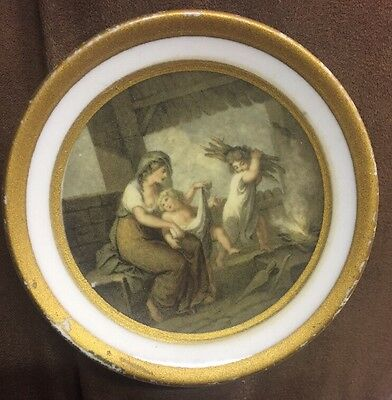 Vintage Capodimonte dish (Made in Italy)