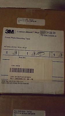 3M  Foam Plate Mounting Tape  18x25  cushion mount 1120-20