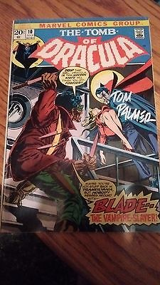 Tomb of Dracula #10. VG  1st appearance BLADE. Signed by Tom Palmer!!!