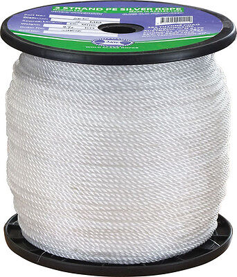 8 mm PE Silver Rope 125m x 8mm Marine Rope Quality Korean Made Rope