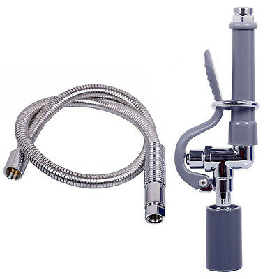 Kitchen Sink Sprayer Hose Kit Commercial Pre Rinse Faucet W 12 Add On Faucet Kitchen