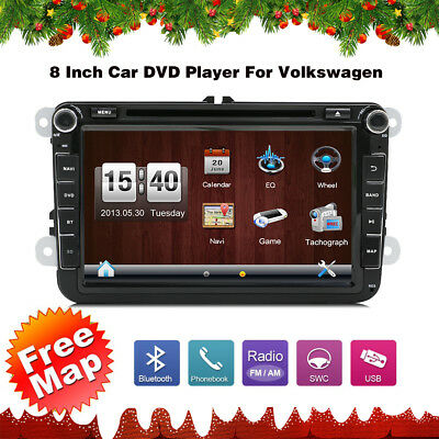 Radio Stereo Multimedia BT Mp3 Car DVD Player GPS Navigation For VolksWagen VW