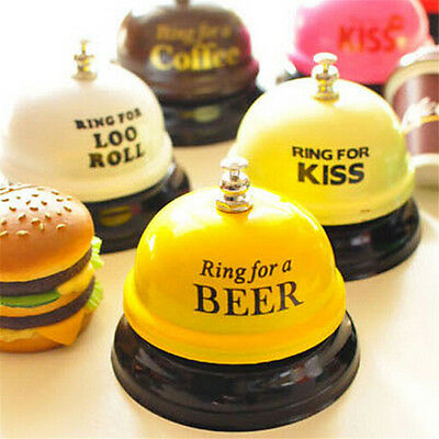 Novelty Hotel Call Bell Ringing For Service Bar Reception Restaurant Gag Gifts