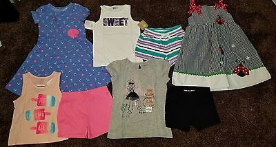 NWT Girls Size 4T LOT of Summer CLOTHES Outfits Gymboree ladybug dress