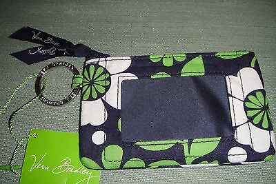 "Vera Bradley  Zip Id Case ""lucky You"" Retired Pattern!  New With Tags!"