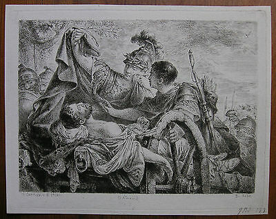 C. B. Rode ´alexander Der Grosse, Darius Iii, Dareios, Alexander The Great´ 1790