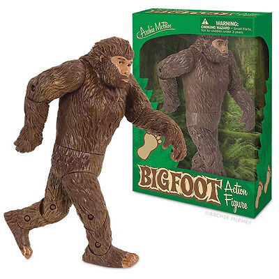 Big Foot Sasquatch Action Figure Unique Gift Novelty Toy Doll Yeti Kitsch Weird