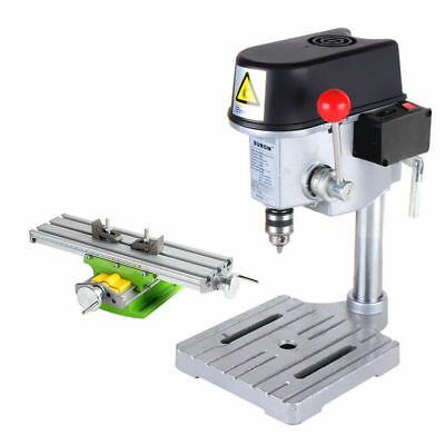 High speed Mini precision Bench Drill Drilling milling machine w/ Workbench 220V