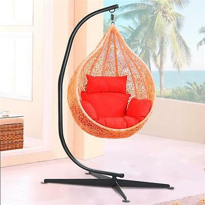 Hammock C Stand Solid Steel Frame Construction Hammock Air Porch Swing Chair New
