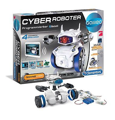 Galileo Cyber Roboter - Kinder Experimente Spielzeug Roboter mit LED & Bluetooth