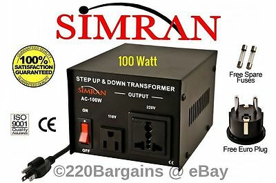 Simran 110-220 Volt Up Down Voltage Transformer 100 To 5000 Watt Power Converter