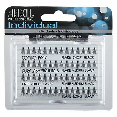 ARDELL INDIVIDUAL NATURALS COMBO PACK BLACK Wimpern