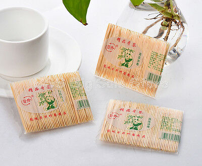 Portable disposable bag head banquet restaurant home bamboo toothpick fine