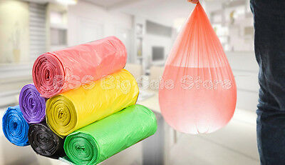 Disposable garbage bags household thickened plastic bags kitchen bathroom medium