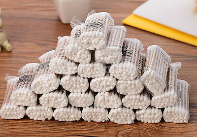 Double-headed sticks cotton swabs tapping ears cotton swabs disposable cotto