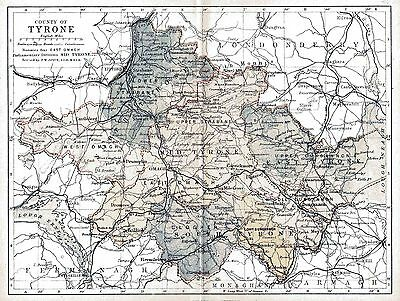 Map of County Tyrone, dated 1897.