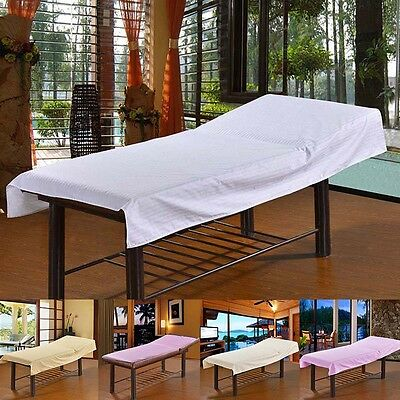 Fitted Disposable Beauty Bed Sheet Massage Table Cover  200cm * 80cm Perforated