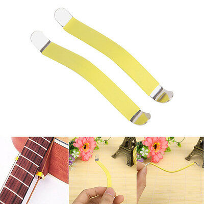 2 Pcs Guitar String Spreaders for Cleaning Fretboard Fret Luthier Care Tool