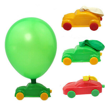 Creative Plastic Balloon Racer Cars Classic Toy Children Birthday Party Gift