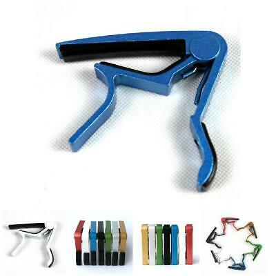 Aluminum Diacritical Clip Capo Clamp Electric Guitar Accessories