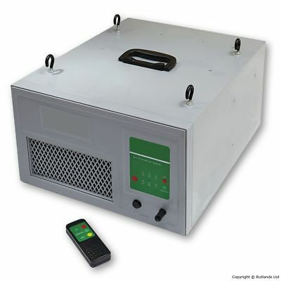 Two Stage Air Filtration System with Remote Control