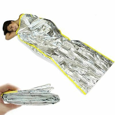 Folding Foil Mylar Thermal Hot Outdoor Camping Emergency Sleeping Bag Survival
