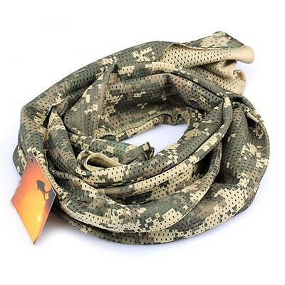 Camouflage Shawl Wraps Scarves Mesh Print Scarf Military Scarf Military Veil