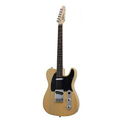 Eagletone Madison Guitarra Electrica Tipo Telecaster Rubio 0727