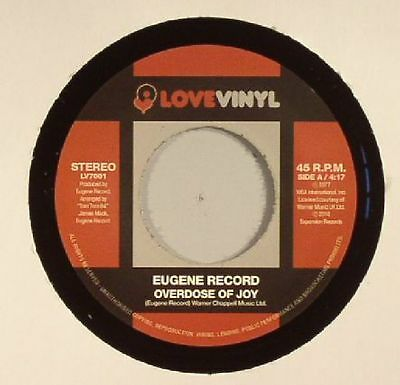 "EUGENE RECORD - Overdose Of Joy - Vinyl (7"")"