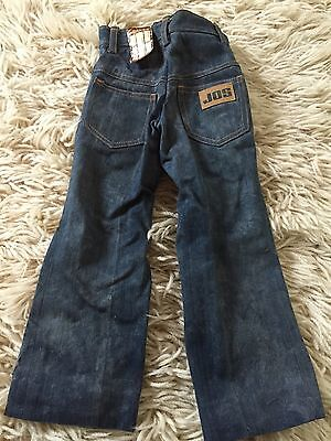JOS Vintage Kids Childs Jeans Denimn Trousers 70s Original