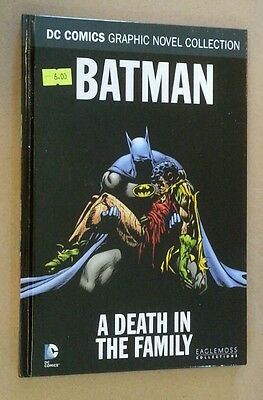 Eaglesmoss DC comics graphic novel collection 11 Batman Death in the Family
