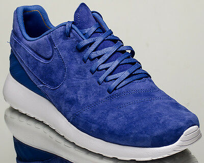 best cheap f23ee dd3e2 Nike Roshe Tiempo VI 6 men lifestyle casual sneakers NEW comet blue 852615 -401